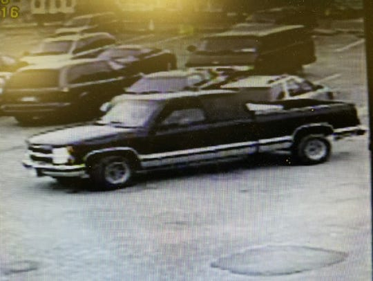Police are searching for this 1995 Chevy truck, Ohio