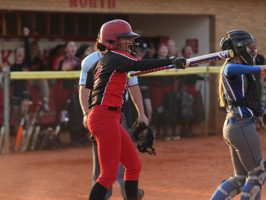 The North Fort Myers softball team defeated Barron Collier 7-2 on Tuesday in the Region 6A-3 semifinals.