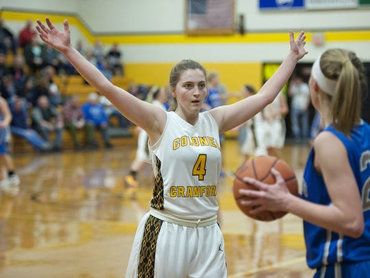 Colonel Crawford senior Ashley Gwirtz looks to make an impact after an injury-plagued junior season.
