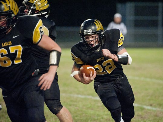 Blake Treisch returns as a 1,000-yard back for the
