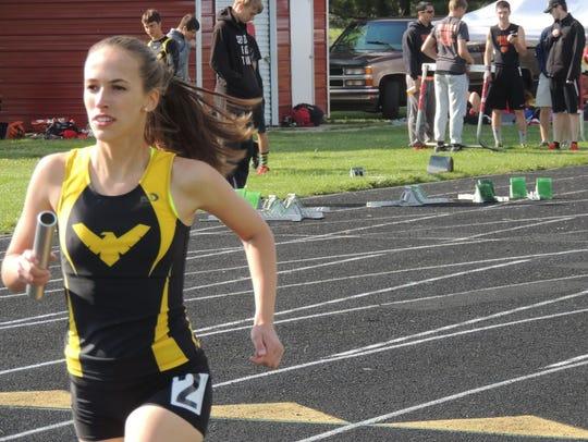 Anna Reffey is the 2015-16 Best Female Runner.