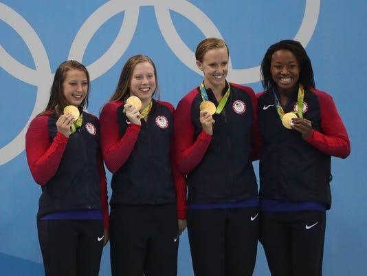 U.S. women's 4x100-meter medley relay