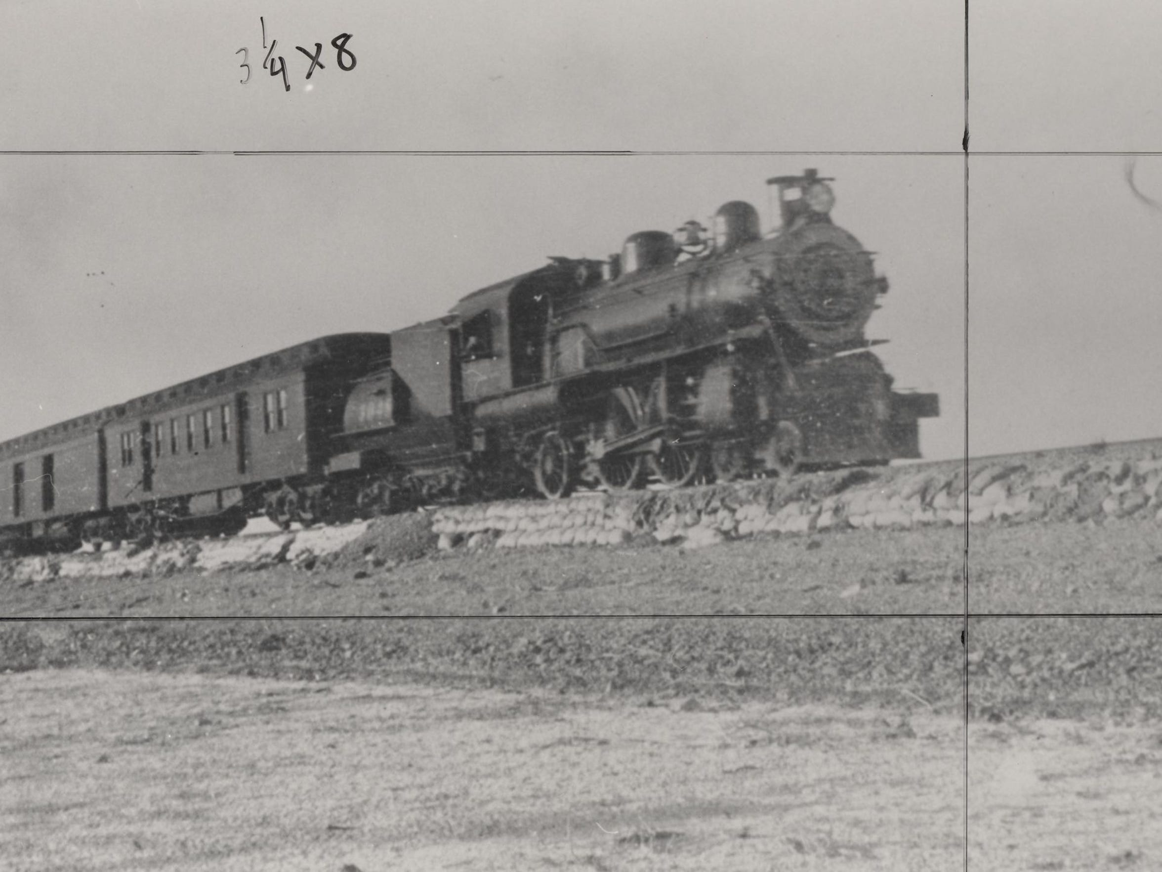 Southern Pacific's local line through the Coachella