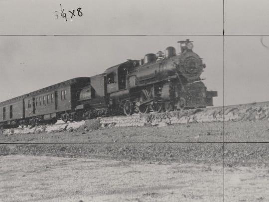 Southern Pacific's local line through the Coachella Valley was known as the 'Old Sidewinder.'