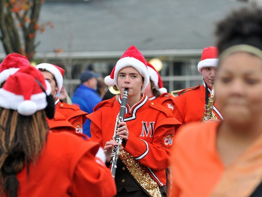 Downtown Mansfield's annual holiday parade will be