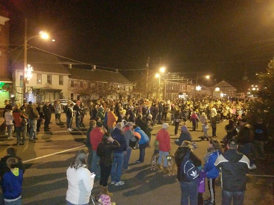 Jonestown Borough's tree lighting ceremony was held from 5 to 9 p.m. on Nov. 25, 2016