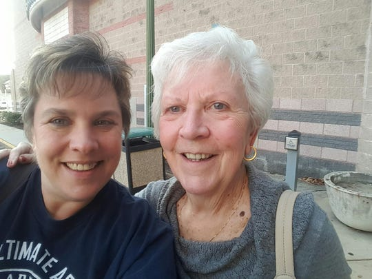 Penny Tedesco (left) and her mother Henrietta Mikutis will take a chartered  bus from South Jersey to Washington, D.C/