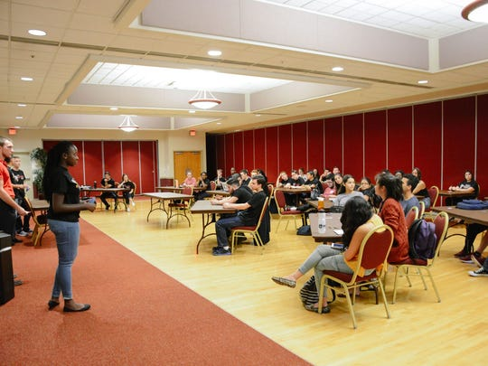 Advance Party Town Hall at the Union Ballrooms on Monday