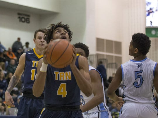 Toms River North's Darrion Carrington was picked as a first team all-division selection by the Shore Basketball Coaches Association in 2017