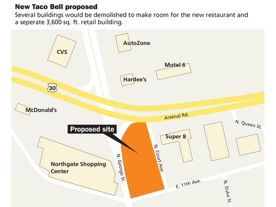 New Taco Bell proposed