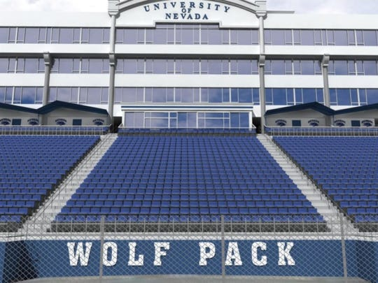 Mackay Stadium underwent a $14 million renovation before the 2016 season that included putting permanent chair-backs in several sections.