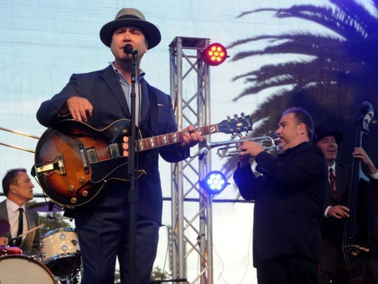 Big Bad Voodoo Daddy is playing at the Simi Valley Cajun & Blues Festival.