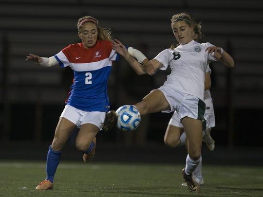 Wall's Amy Paternoster battles with Senecas Alyssa