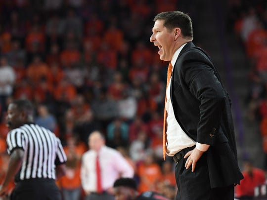 Brad Brownell and the Tigers will take a 9-1 record into Tuesday night's game against South Carolina.