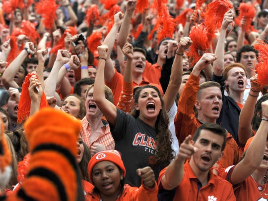 The sale of football game tickets is a primary fund