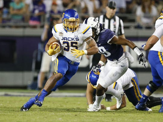 Isaac Wallace rushed for over 100 yards against both