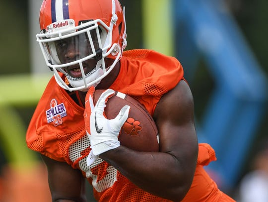 Clemson's Tavien Feaster packed on 15 pounds during