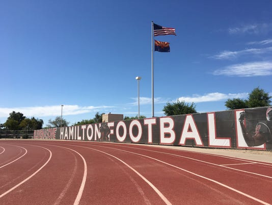 Hamilton High School football