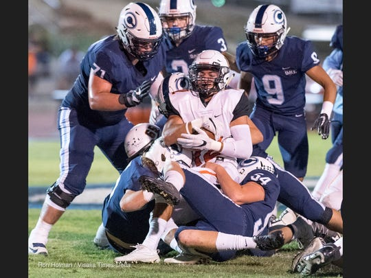 Central Valley Christian hosts Selma in a Central Sequoia League high school football game on Friday, October 6, 2017.