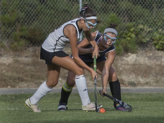 Southern vs Toms River North field hockey on Sep. 26,