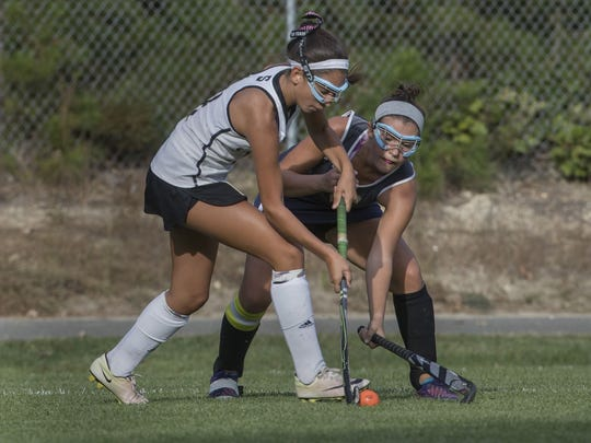 Southern vs Toms River North field hockey on Sep. 26, 2017