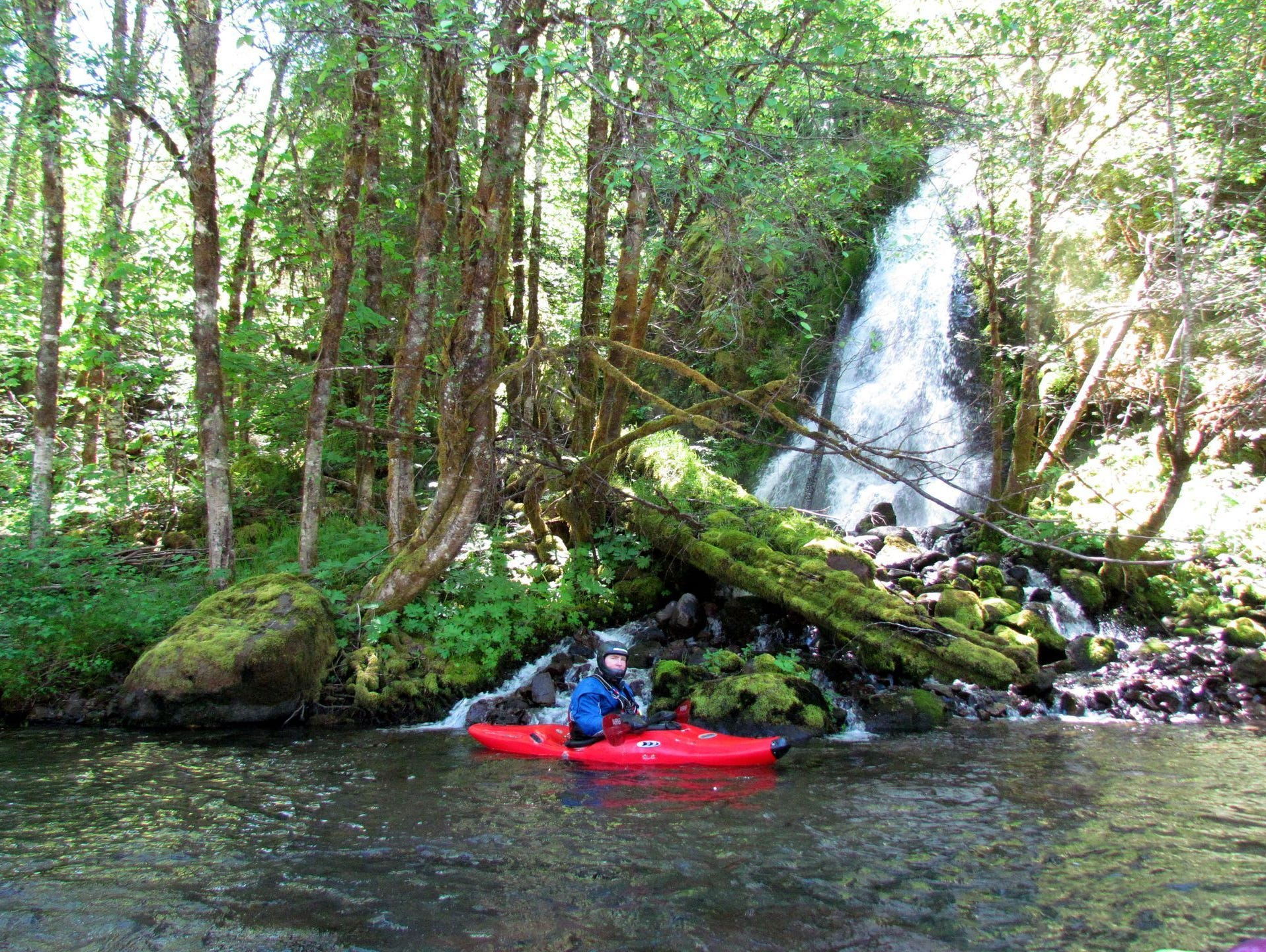 Kayaking the Upper North Santiam