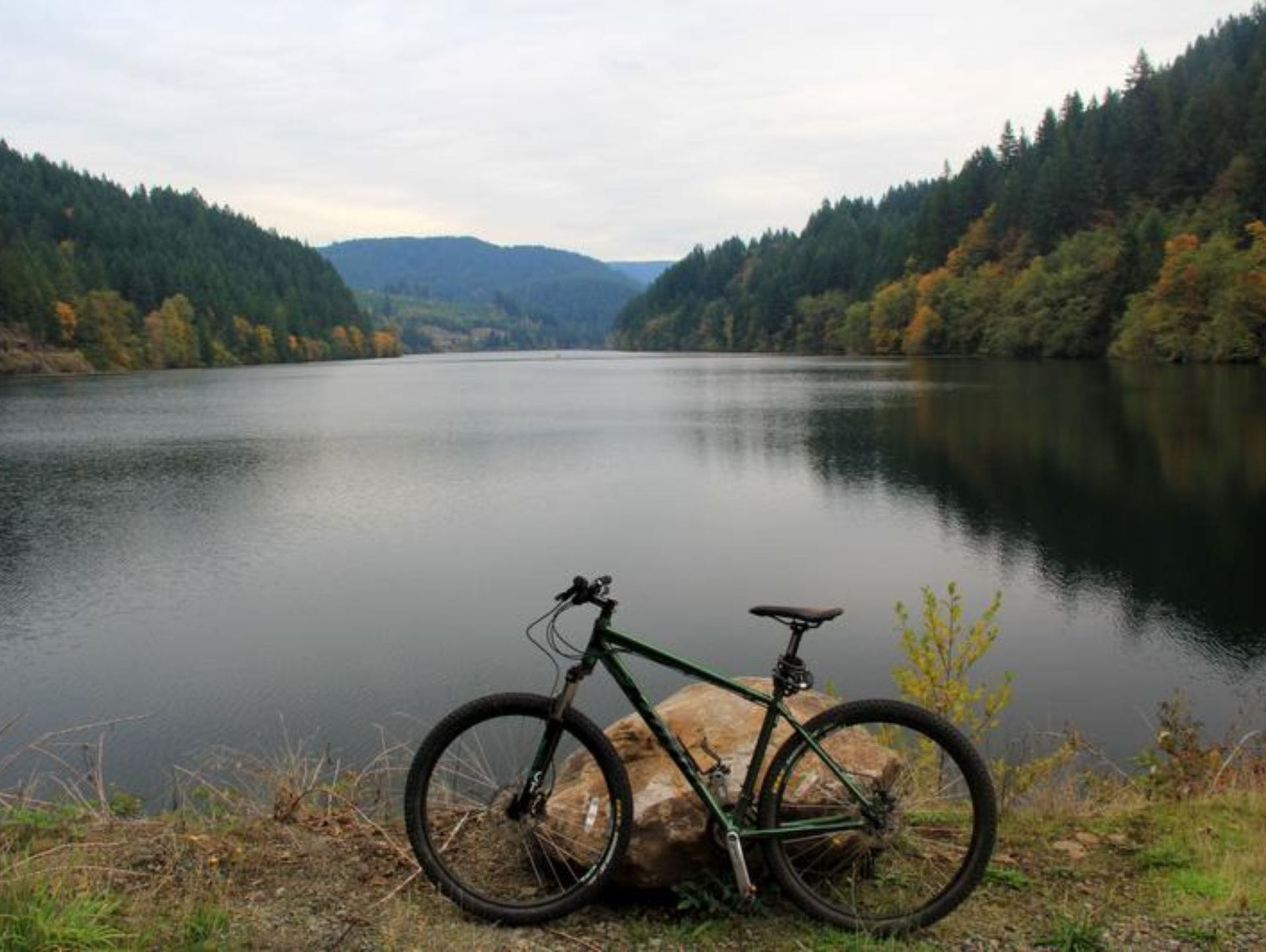 Enjoy photos of the Cascading Rivers Scenic Bikeway.