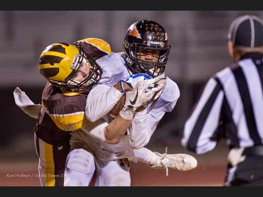 Golden West hosts McClymonds in the 2017 CIF State Football Division 5-AA Championship on Saturday, December 16, 2017.