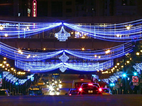 The Milwaukee Holiday Lights Festival returns to downtown Nov. 21.