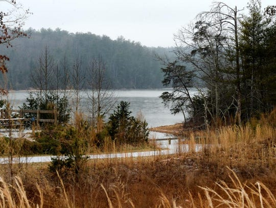 Rangers will lead a hike around Lake James Jan. 1as