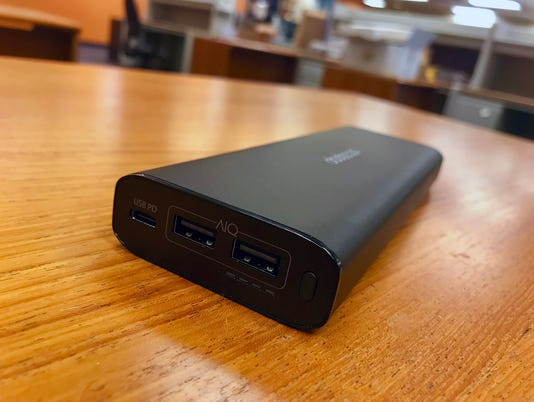The Dodocool 20100 mAh Power Bank comes with two full-size USB ports, a USB Type-C port and fast-charging capability.
