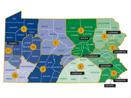 York County is part of PennDOT's Engineering District 8.