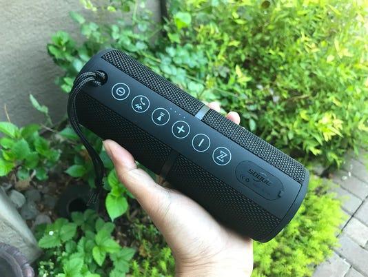 The Sbode M400 Bluetooth speaker.