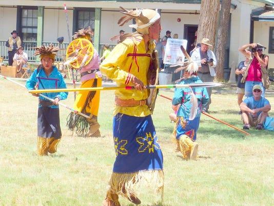 mescalero dancers fort stanton LIVE