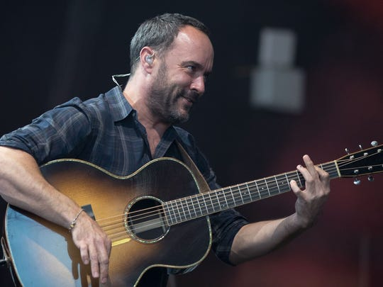Dave Matthews will perform with the Dave Matthews Band June 28-29 at Ruoff Home Mortgage Music Center.
