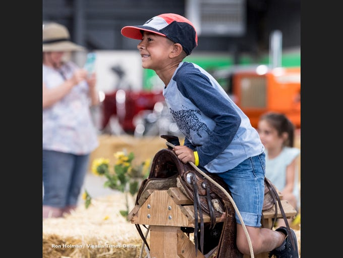The Tulare County Fair kicked off Wednesday, September