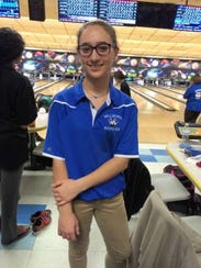 Lauren Potechin, pictured here during her time at Millburn, was a two-time county girls champion in bowling.