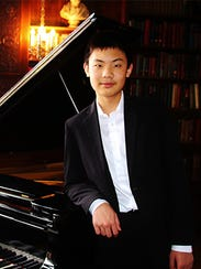 Raymond Feng of Pittsford, Young Artist winner for