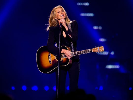 Faith Hill performs on July 20, 2018, during the Soul2Soul