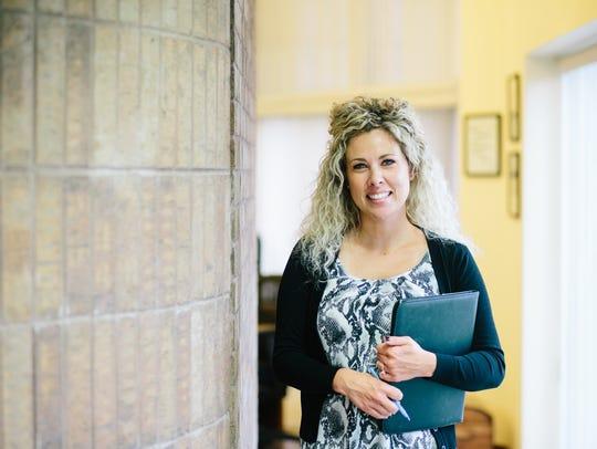 Tiffany McClain, newly promoted Vice President, Strategic