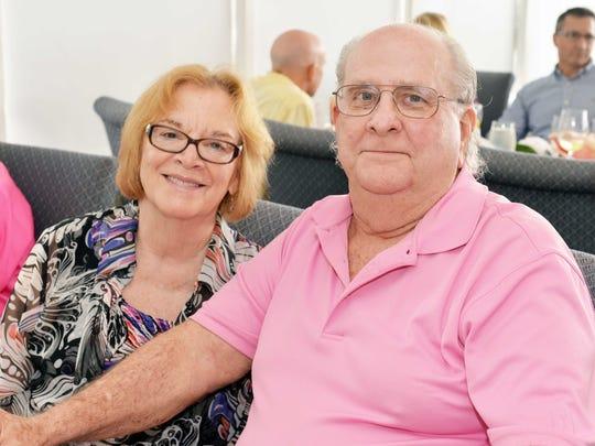 Fort Pierce Mayor Linda Hudson and John Bailey at the