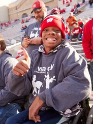 Wausau East High School students visited Camp Randall