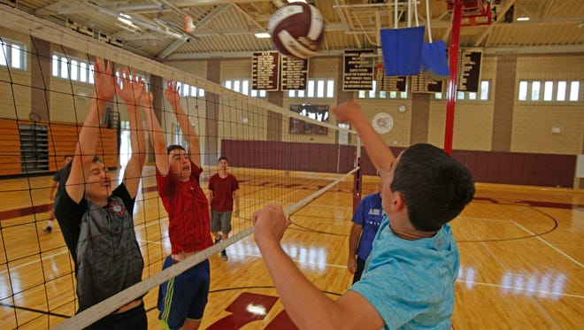 Scarsdale High School will be the first to field a Boys volleyball team in the county on Sept. 2, 2016.