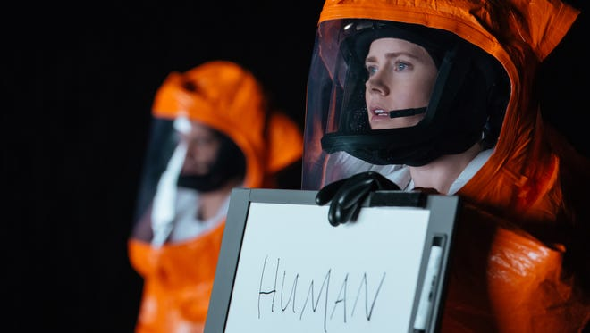 """Amy Adams plays Louise Banks in """"Arrival."""""""