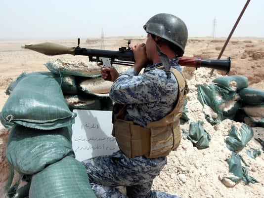 EPA IRAQ UNREST RAMADI WAR ARMED CONFLICT IRQ IR