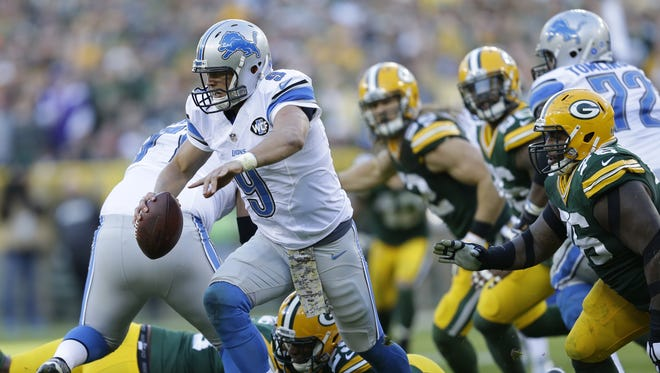 Quarterback Matthew Stafford and the Detroit Lions will learn a lot about their playoff chances Sunday against the New York Giants in the Meadowlands.