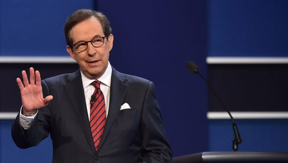 Chris Wallace moderated the final 2016 presidential