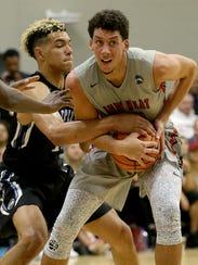 Spiece Indy Heat Gym Rats Brandon Johns (23) keeps