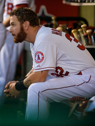 Josh Hamilton played in just 89 games in 2014 due to