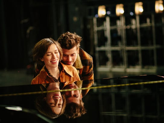 Rebecca Hall as Anna and Francois Arnaud as Dane in